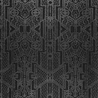 Brandt Geometric Wallpaper - Charcoal