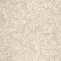 L'Oasis Wallpaper - Pearl Grey