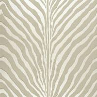 Bartlett Zebra Wallpaper - Pearl Grey