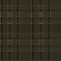 Deerpath Trail Plaid Wallpaper - Sepia
