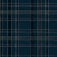 Deerpath Trail Plaid Wallpaper - Indigo
