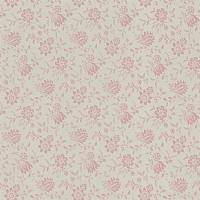 Scrimshaw Floral Wallpaper - Shell