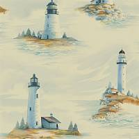 Pemaquid Wallpaper - Morning Light