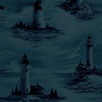 Pemaquid Wallpaper - Midnight