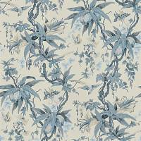 Mary Day Botanical Wallpaper - Slate