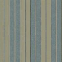 Seaworthy Stripe Wallpaper - Vintage Blue