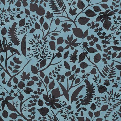 Christian Lacroix Paradis Barbares Wallpapers L'Eden Wallpaper - Bleu Nigelle - PCL7025/06