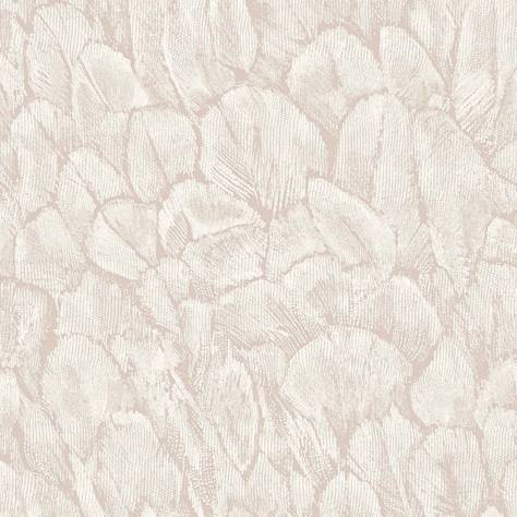 1838 Wallcoverings Aurora Wallpapers Tranquil Wallpaper - Pearl - 1804-119-02
