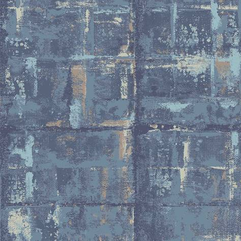 1838 Wallcoverings Aurora Wallpapers Patina Wallpaper - Lagoon - 1804-120-05