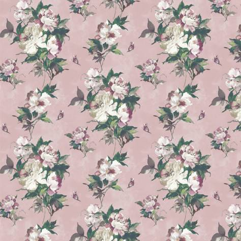 1838 Wallcoverings Camellia Wallpapers Madama Butterfly Wallpaper - Blush - 1703-108-02