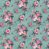 Madama Butterfly Wallpaper - Teal