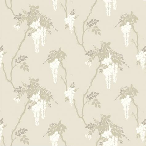 1838 Wallcoverings Camellia Wallpapers Leonora Wallpaper - Ivory - 1703-109-01