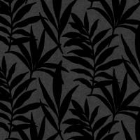 Verdi Wallpaper - Ebony Flock