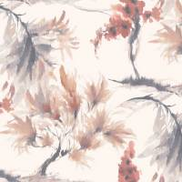 Mimosa Wallpaper - Red Clay