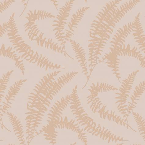 1838 Wallcoverings Capri Wallpapers Felci Wallpaper - Pink Stucco - 1905-125-03