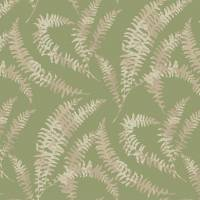 Felci Wallpaper - Olive Green
