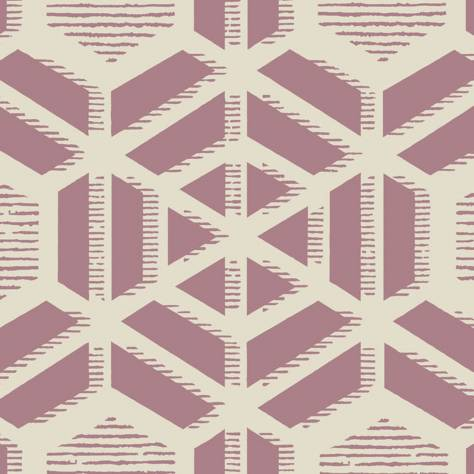 1838 Wallcoverings Capri Wallpapers Capri Wallpaper - Pink Stucco - 1905-126-03