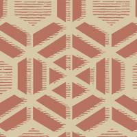 Capri Wallpaper - Red Clay