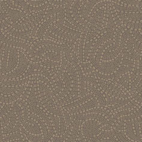 1838 Wallcoverings Capri Wallpapers Mosaic Wallpaper - Burnished - 1905-127-03