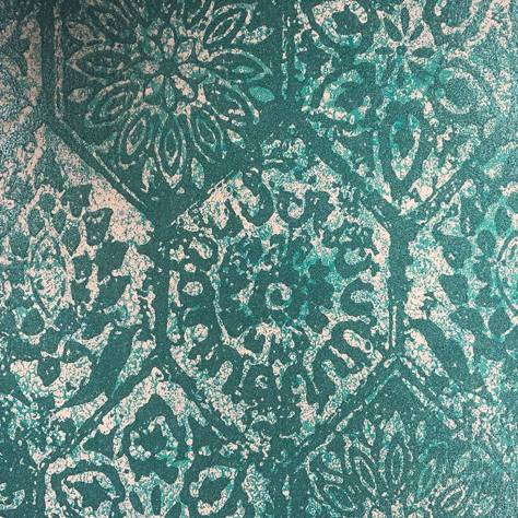 1838 Wallcoverings Capri Wallpapers Palazzo Wallpaper - Aquamarine - 1905-129-01