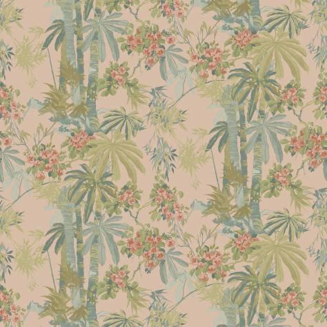 Linwood Fabrics Tango Wallpapers Bamboo Garden Dusky Pink - LW077/001