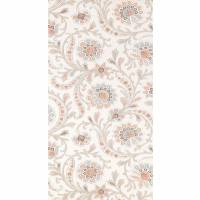Baville Wallpaper - French Grey / Pink