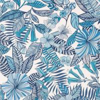 Valldemossa Wallpaper - Persian / Blue / Ivory