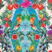 Talavera Wallpaper - Persian Blue / Turquoise