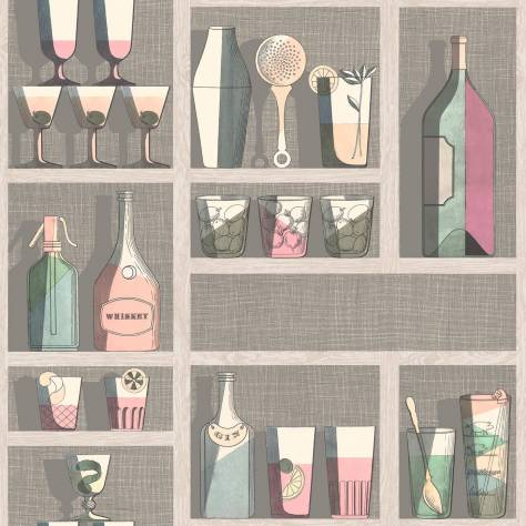 Cole & Son Fornasetti Senza Tempo Cocktails Wallpaper - 114/23044