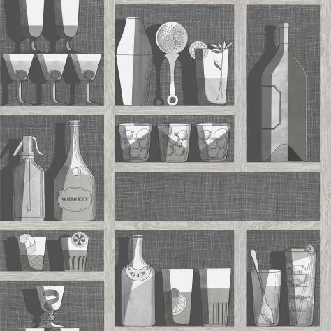 Cole & Son Fornasetti Senza Tempo Cocktails Wallpaper - 114/23045
