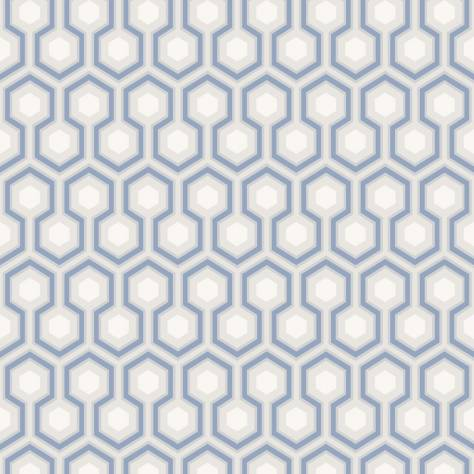 Cole & Son Contemporary Collection Wallpapers Hicks' Hexagon Wallpaper - 66/8054