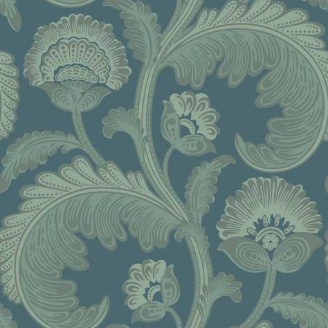 Cole & Son The Pearwood Collection Wallpapers Fanfare Flock Wallpaper - 116/7026