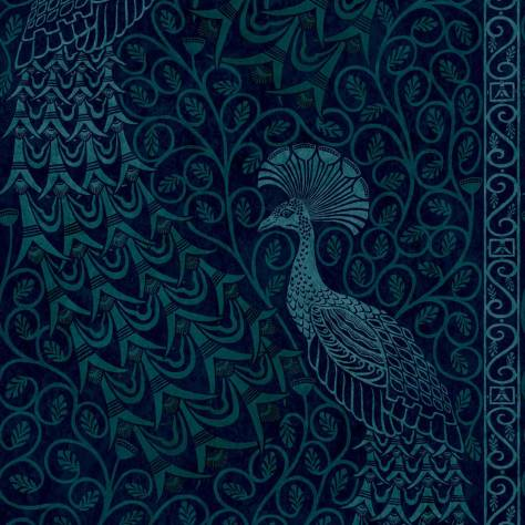 Cole & Son The Pearwood Collection Wallpapers Pavo Parade Wallpaper - 116/8028