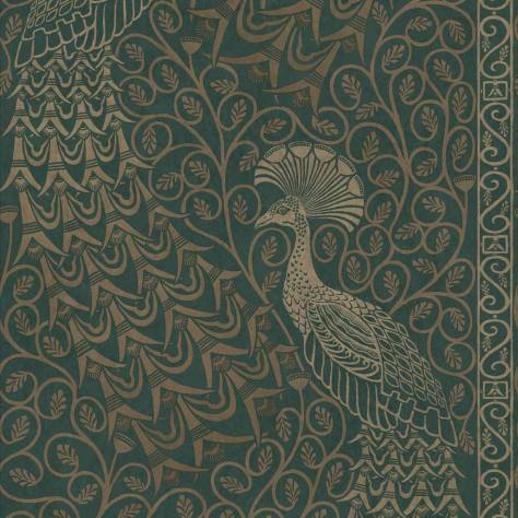 Cole & Son The Pearwood Collection Wallpapers Pavo Parade Wallpaper - 116/8031