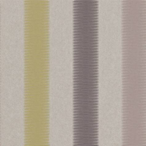 Harlequin Amazilia Wallpapers Tambo Wallpaper - Stone/Charcoal/Olive - 111054