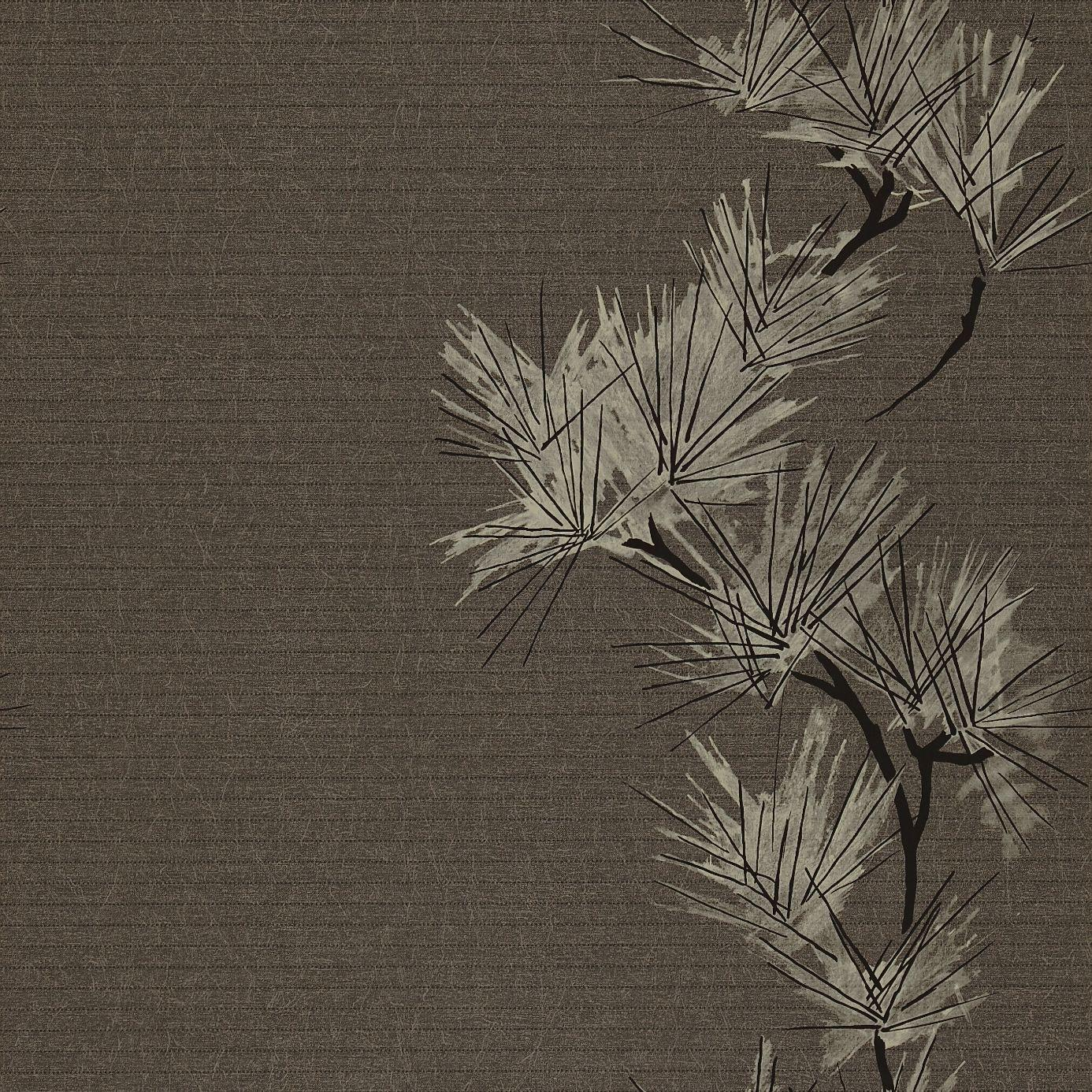 entwine wallpaper slate gilver charcoal 75479
