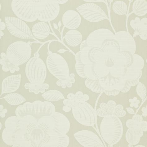Harlequin Folia Wallpapers Verena Wallpaper - Paper White/Silver Mist - 110275