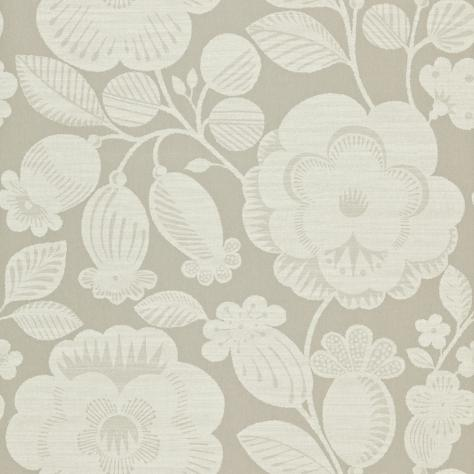 Harlequin Folia Wallpapers Verena Wallpaper - Linen/Silver Grey - 110277
