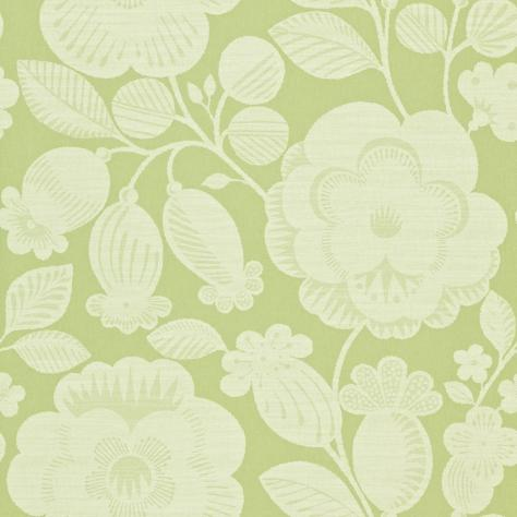 Harlequin Folia Wallpapers Verena Wallpaper - Apple/Linen - 110278