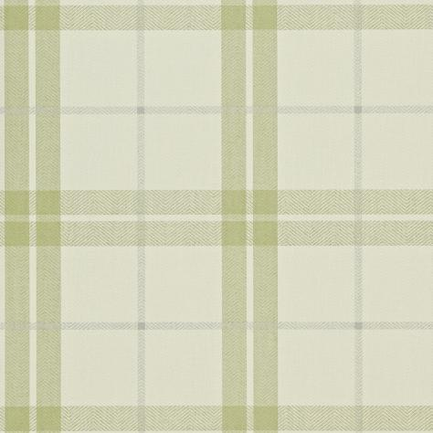 Harlequin Folia Wallpapers Inga Wallpaper - Lime/Silver/Linen - 110286