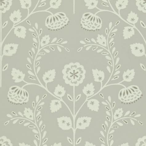 Harlequin Folia Wallpapers Lucerne Wallpaper - Stone/Paper White - 110291