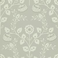 Lucerne Wallpaper - Stone/Paper White