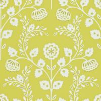 Lucerne Wallpaper - Chartreuse/Chalk