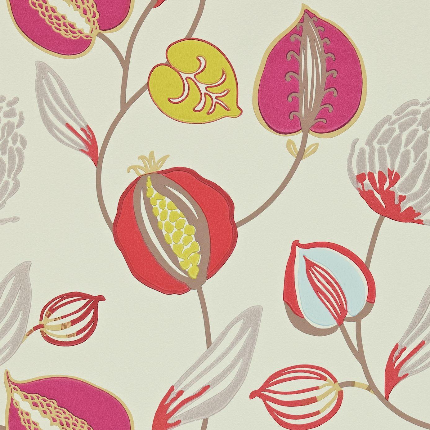 Home Wallpapers Harlequin Folia Wallpapers Tembok Wallpaper - Mist ...