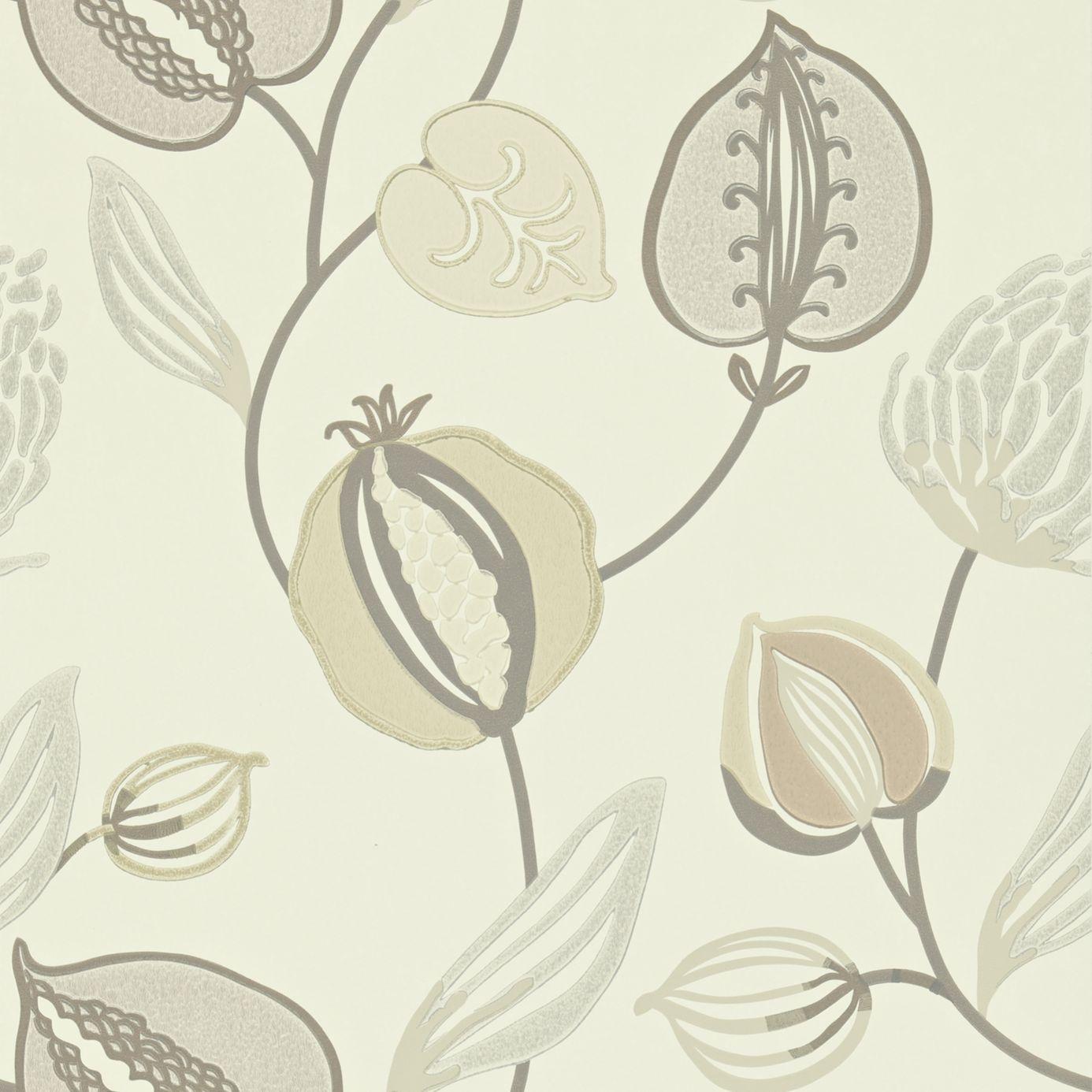 Home Wallpapers Harlequin Folia Wallpapers Tembok Wallpaper - Pearl ...