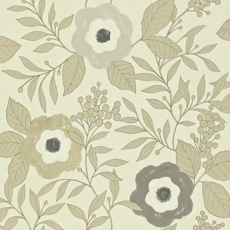 Harlequin Folia Wallpapers Jena Wallpaper - Neutral/Gold/Stone - 110309