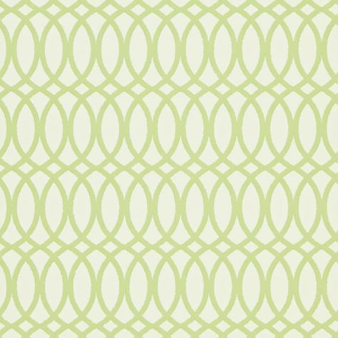 Harlequin Folia Wallpapers Erin Wallpaper - Chalk/Apple - 110315
