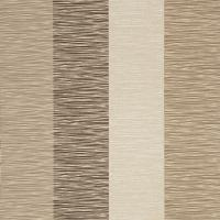 Corvini Stripe Wallpaper - Coffee/Charcoal/Silver