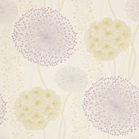 Gardenia Wallpaper - Amethyst/Lime/Neutral