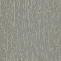 Grasses Wallpaper - Steel/Pewter